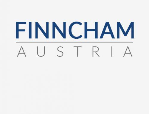 """Uusi nimemme on tästä eteenpäin """"Kauppakamari Suomi Itävalta"""" / Finncham Austria"""