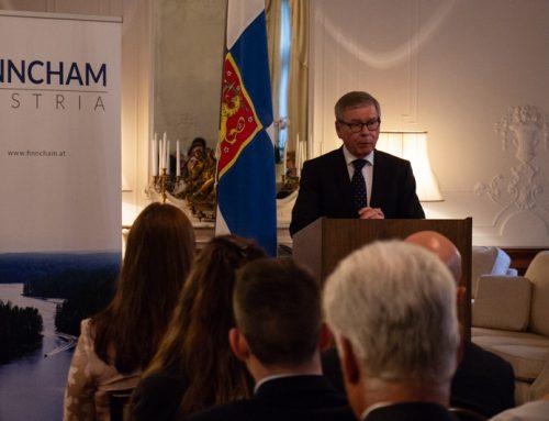 Preisverleihung Wirtschaftspreis Finnland Österreich 2018