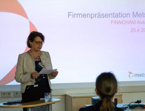 Rückblick: Firmenpräsentation Metso Austria am 25.4.2019