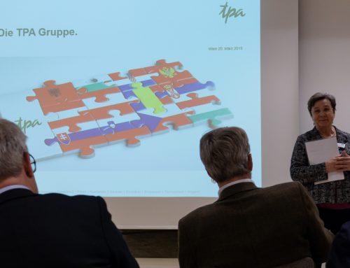 Rückblick: Firmenpräsentation TPA am 20.03.2019